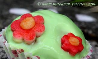 La recette des cupcakes de printemps