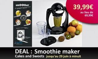 Deal : Smoothie maker à seulement 39,99 euros [terminé]