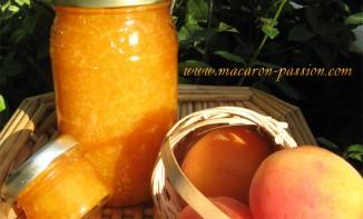 Recette de la Confiture Abricot et Noix de coco
