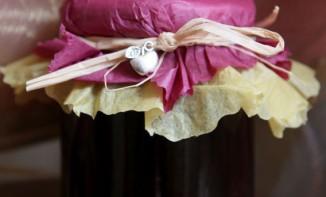 Confiture de pomme cassis et vanille