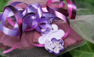 Confiture de cassis et violette