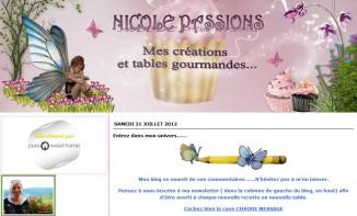 Portrait de blog : Nicole Passions