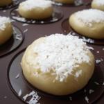 Whoopies coco et chocolat blanc avant la mise au four
