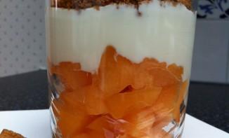 la verrine de melon façon crumble