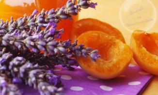 Confiture d'abricots et lavande