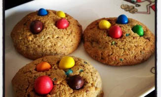 Cookies régressifs aux M&M'S… Vive la gourmandise !