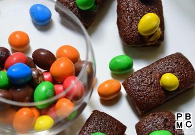 Recette de financier au chocolat
