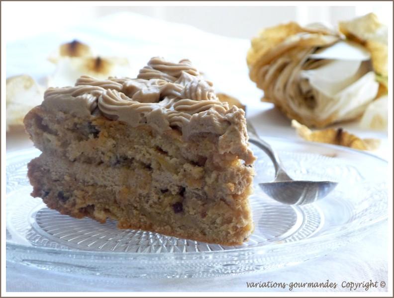 Maple Sirop Icing Cake