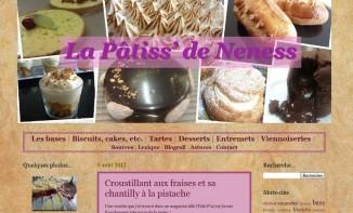 Portrait de blog : La pâtiss' de Neness