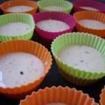 Préparation des muffins au café