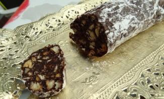 saucisson au chocolat recettes de desserts plus de 1000 recettes sur. Black Bedroom Furniture Sets. Home Design Ideas