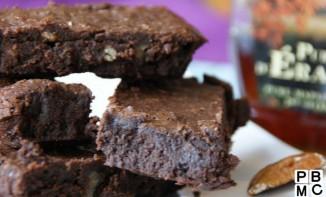 American Chocolate Brownie avec l'accent et le goût