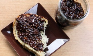 Confiture de figue et chocolat
