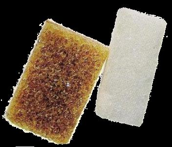 Morceaux de sucre roux et blanc