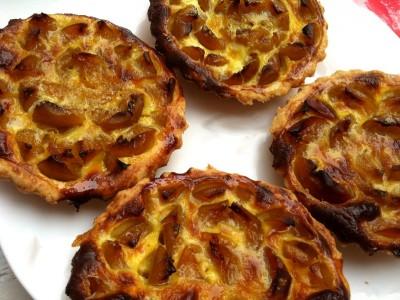 Tartelettes aux mirabelles
