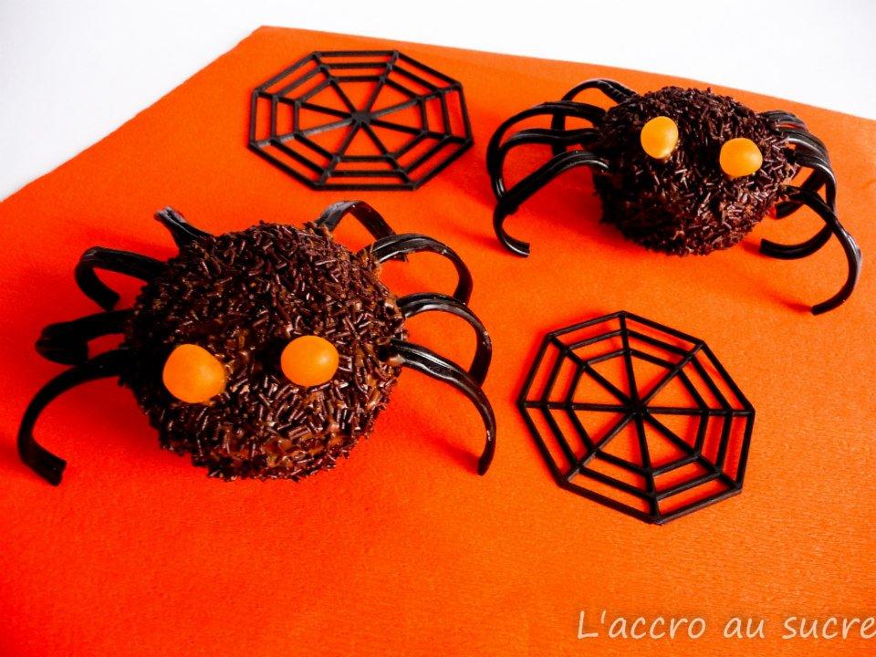 Mes araign es d 39 halloween recettes de desserts plus de - Recette dessert halloween ...