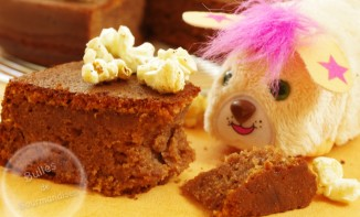 Gâteau choco-praliné au mascarpone