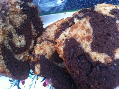 Moelleux Marbré Spéculoos et Chocolat Noir