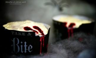 Dracula Kiss Cupcakes