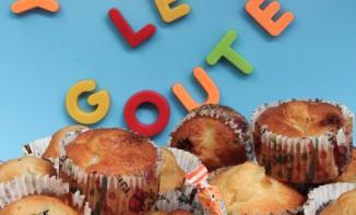 recette de Muffins ananans, coco, caramel et choco coco