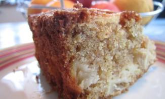 Gâteau aux pommes et à la farine complète