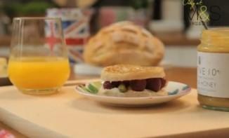 Le petit déjeuner par Marks & Spencer, so british !
