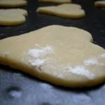 Préparation des Biscuits coeurs à croquer