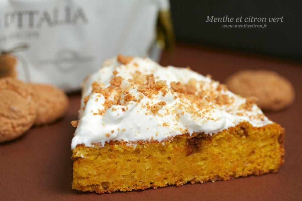 Cake Moelleux Potiron
