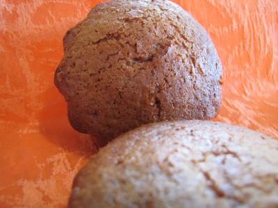 Muffins au miel et à la farine de seigle