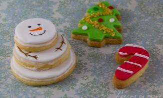 Des biscuits de Noël rigolo… pour petits et grands!