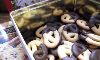 Bretzel au chocolat, Bredele Alsaciens