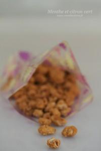 Chouchous (cacahuètes caramélisées) façon fête foraine