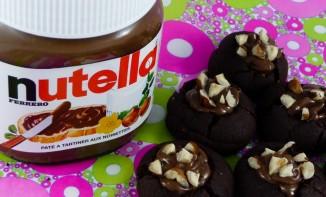 Nids au chocolat et au Nutella
