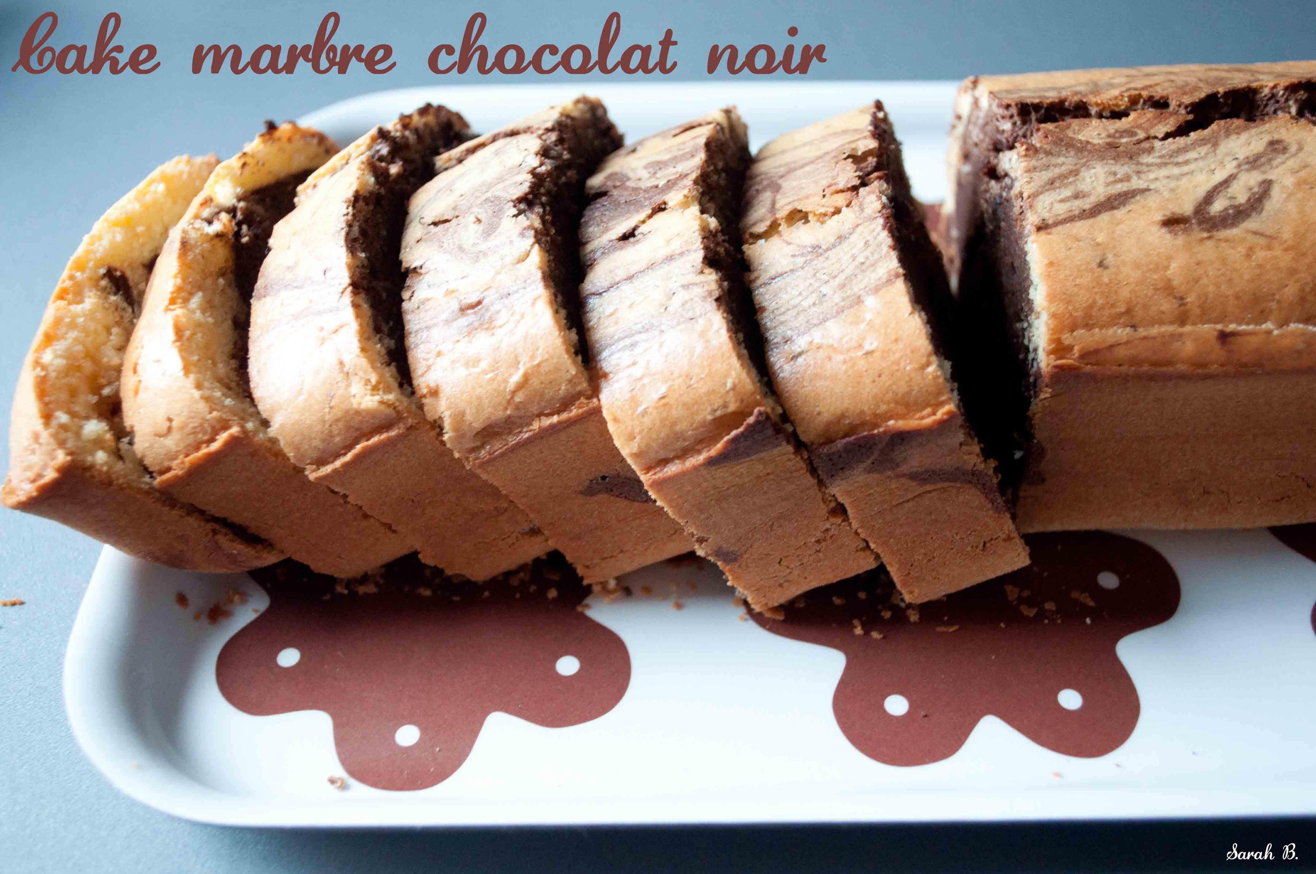 Gateau marbre chocolat facile