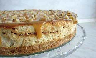 Cheese Cake banane et Caramel au beurre salé