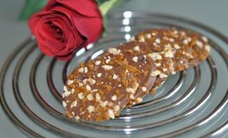 Palets aux éclats de caramel et noisette
