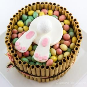 Le lapin de p ques est tomb dans le g teau recettes de for Dans 30 ans plus de chocolat