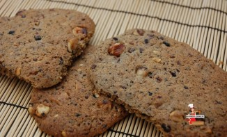 Cookies speculoos et noisettes