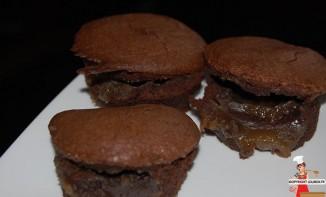 Fondants au chocolat au coeur coulant de crème de marron