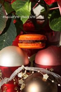Macarons chocolat orange et pain d'épice