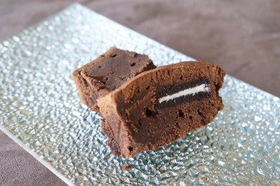Brownie aux Oréo