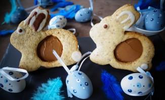 Sablés de Pâques pâte à tartiner aux amandes