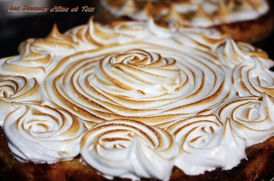 Tarte citron meringu e recettes de desserts plus de 1000 recettes sur - Recette tarte citron meringuee ...