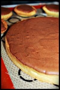 Tarte chocolat meringuée