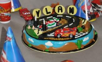 Gâteau 3D Flash Mc Queen (Cars)