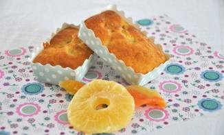 Mini cake ananas et melon séchés