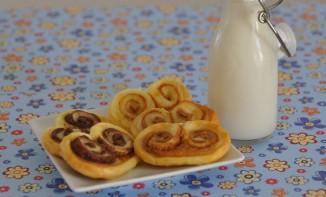 Palmier nutella noisettes