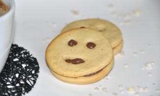 Smileys petit-beurre et chocolat