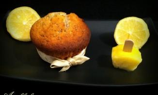 Moelleux au citron coeur lemon curd