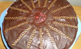 Gâteau pommes chocolat
